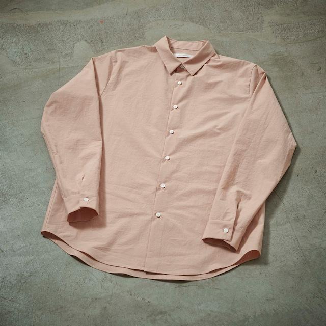 tilt The authentics / Undecorated Shirt(DUSTY PINK)