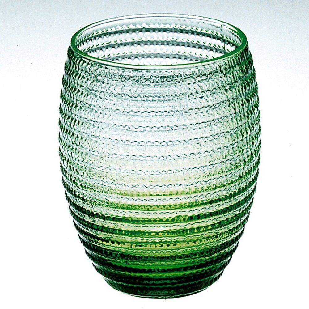 IVV   Green HeliXglass 【イタリア製ガラス食器】