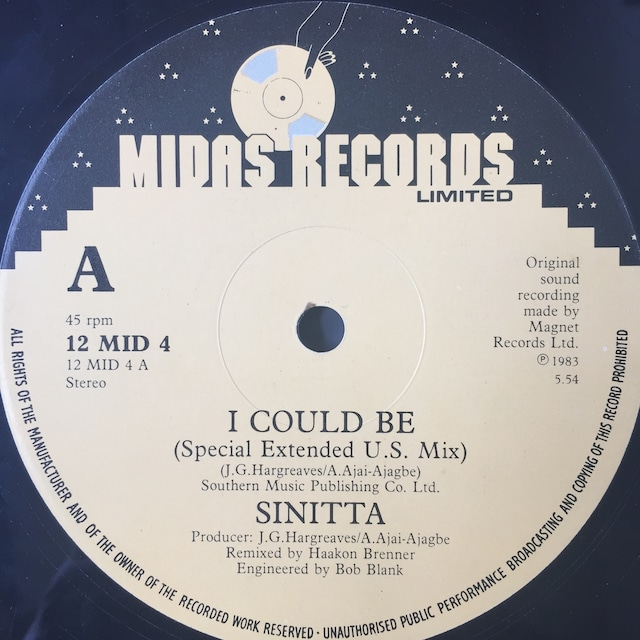 Sinitta – I Could Be