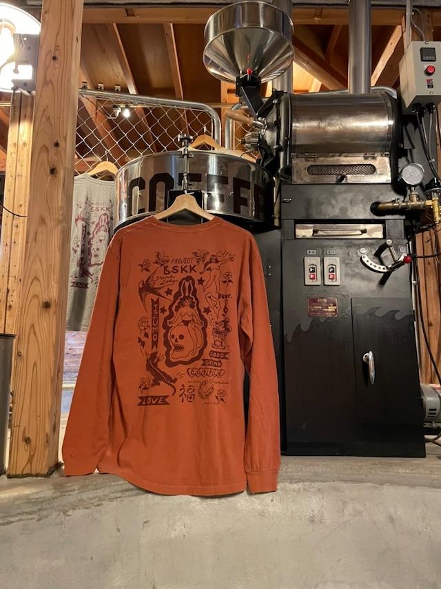 "GRINDLODGE × BSKK  ""GOOD GRIND COFFEE""  Tee"