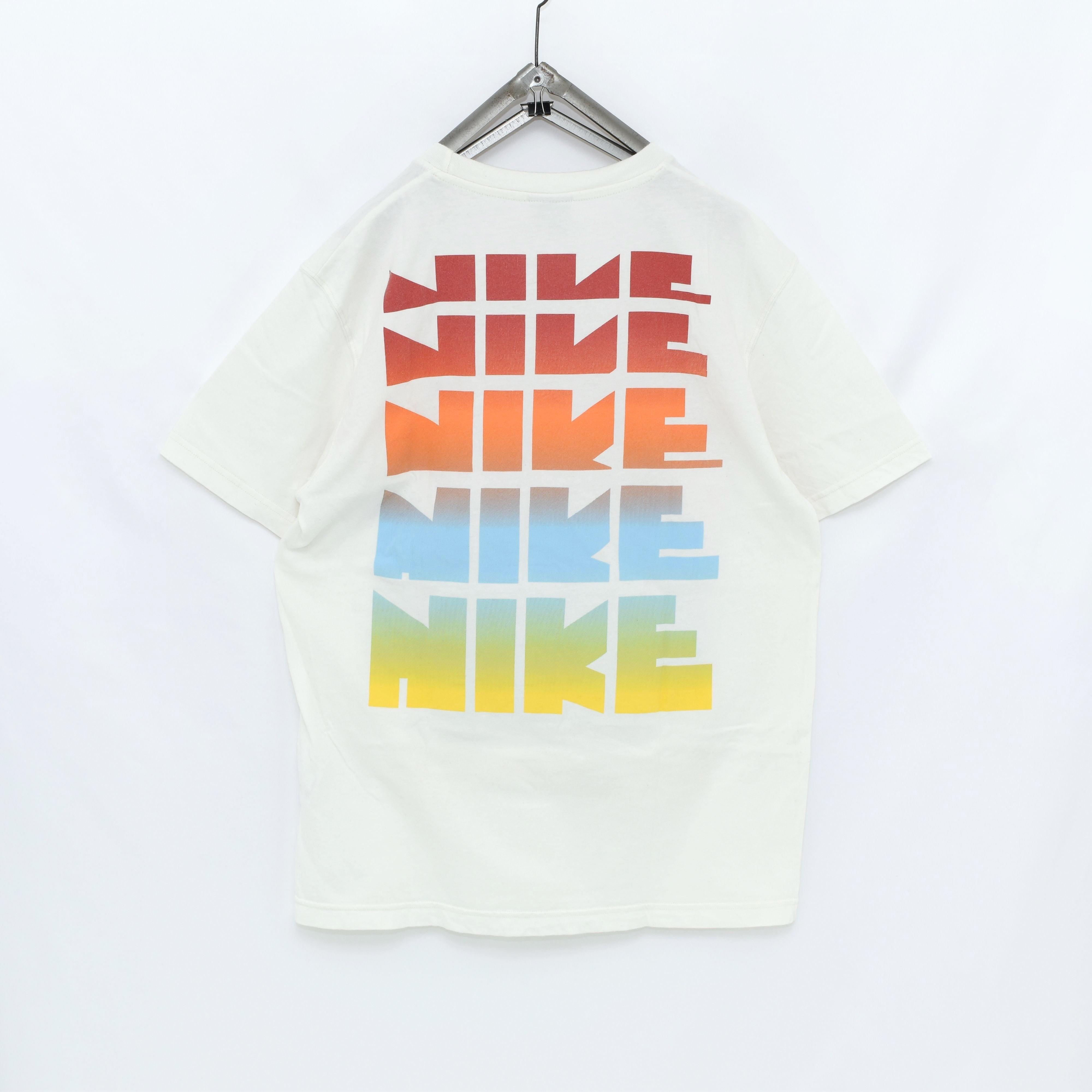 ナイキ 希少【ポルトガル製】NIKE ホワイトレーベル ゴツナイキ Tシャツ 完売品