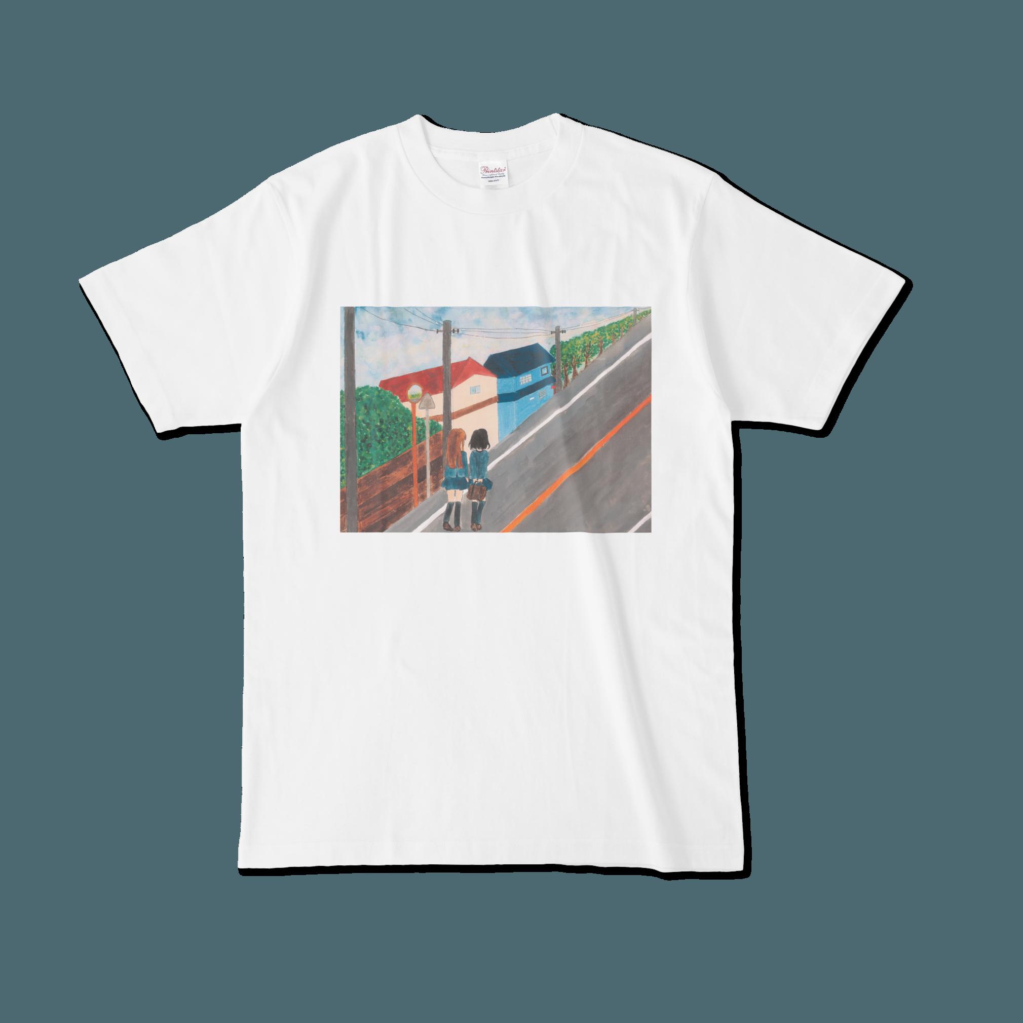 【税込・送料無料】成瀬陽菜デザインTシャツ「帰り道」