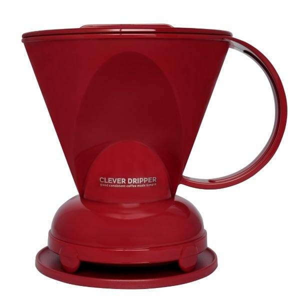 Clever Dripper RED / S (1~2杯用) [ペーパーフィルター100枚付] クレバードリッパー赤