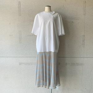 【mintdesigns】LETTER SHIRT DRESS/38211-LT2DF03