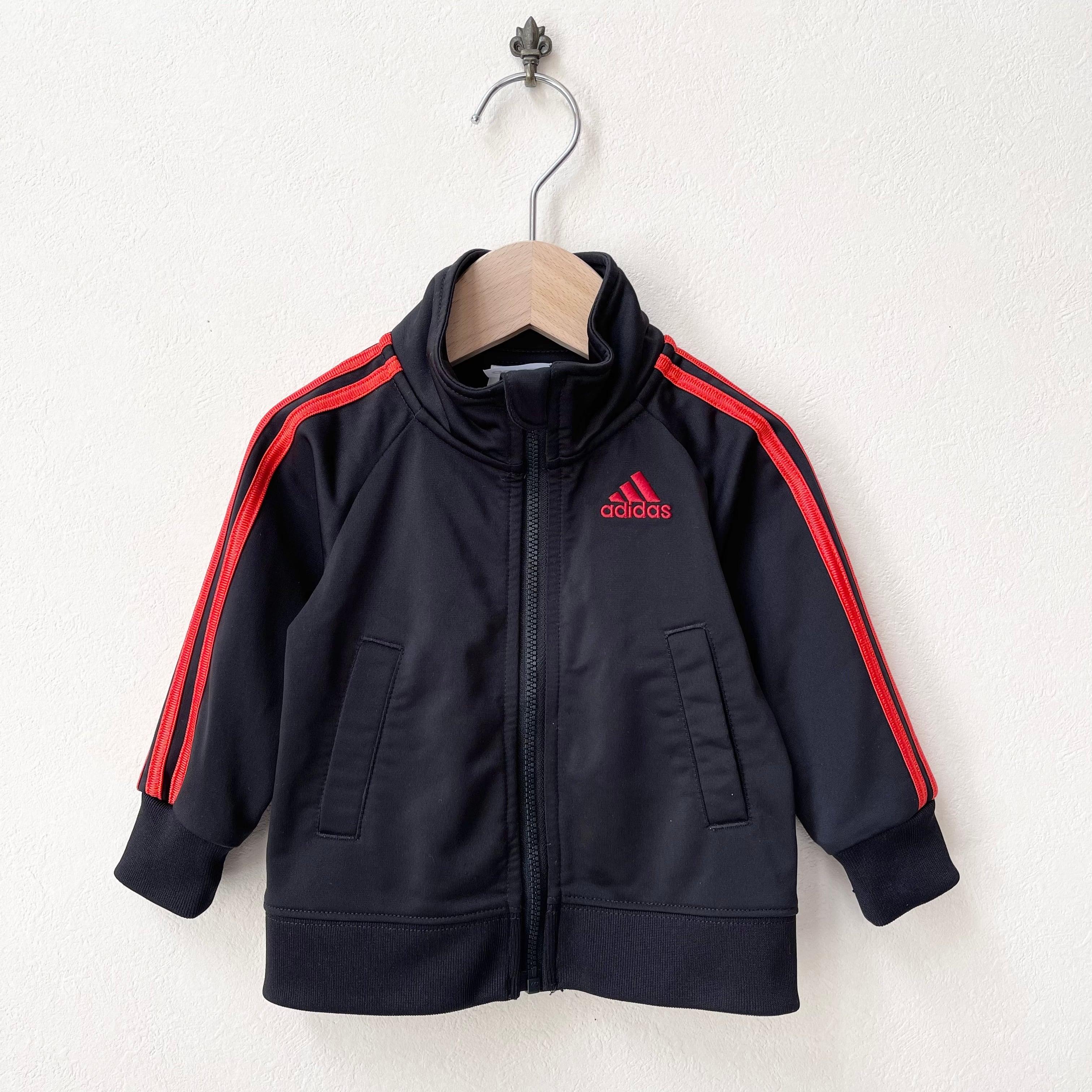 キッズ古着 アディダス adidas ワンポイントロゴ ジャージ アメリカ古着 子供服