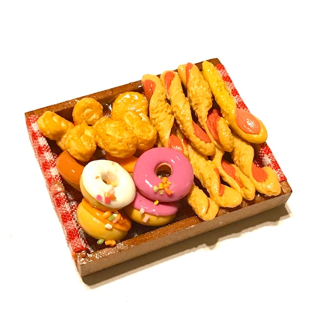 ミニチュアパン&ドーナッツセット(2)