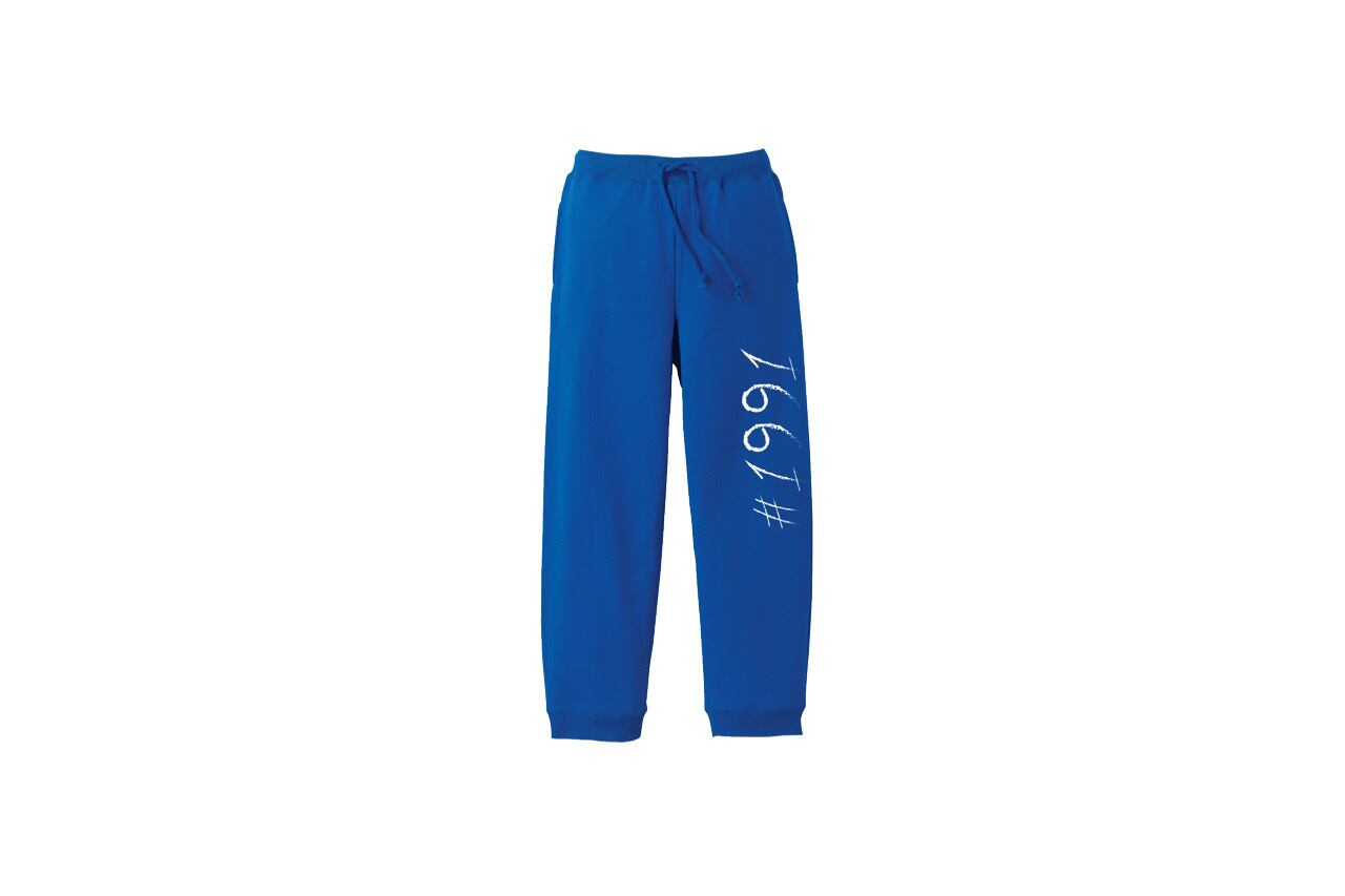 1991 sweat pants (BLUE)