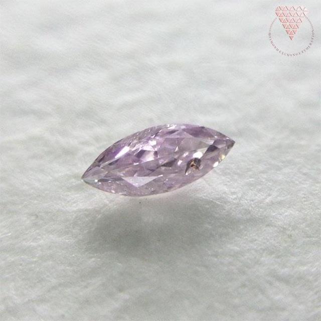 0.085 ct F. L. Pur-Pink CGL 天然 ピンク ダイヤ