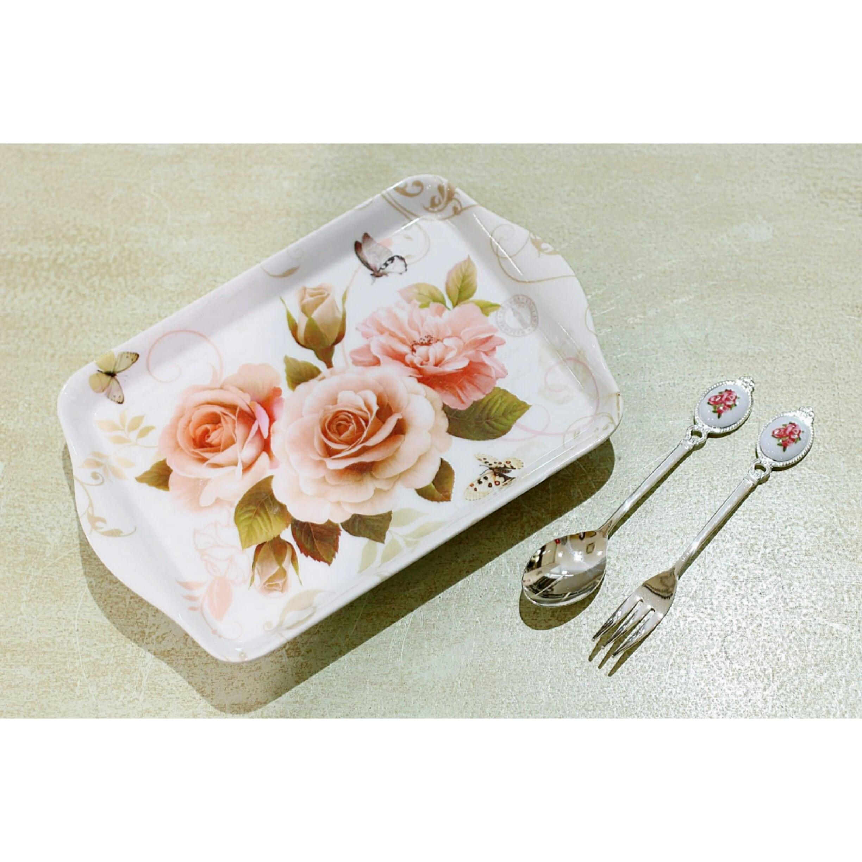 miniメラニントレー02/デザートトレー/バラ雑貨/浜松雑貨屋 C0pernicus