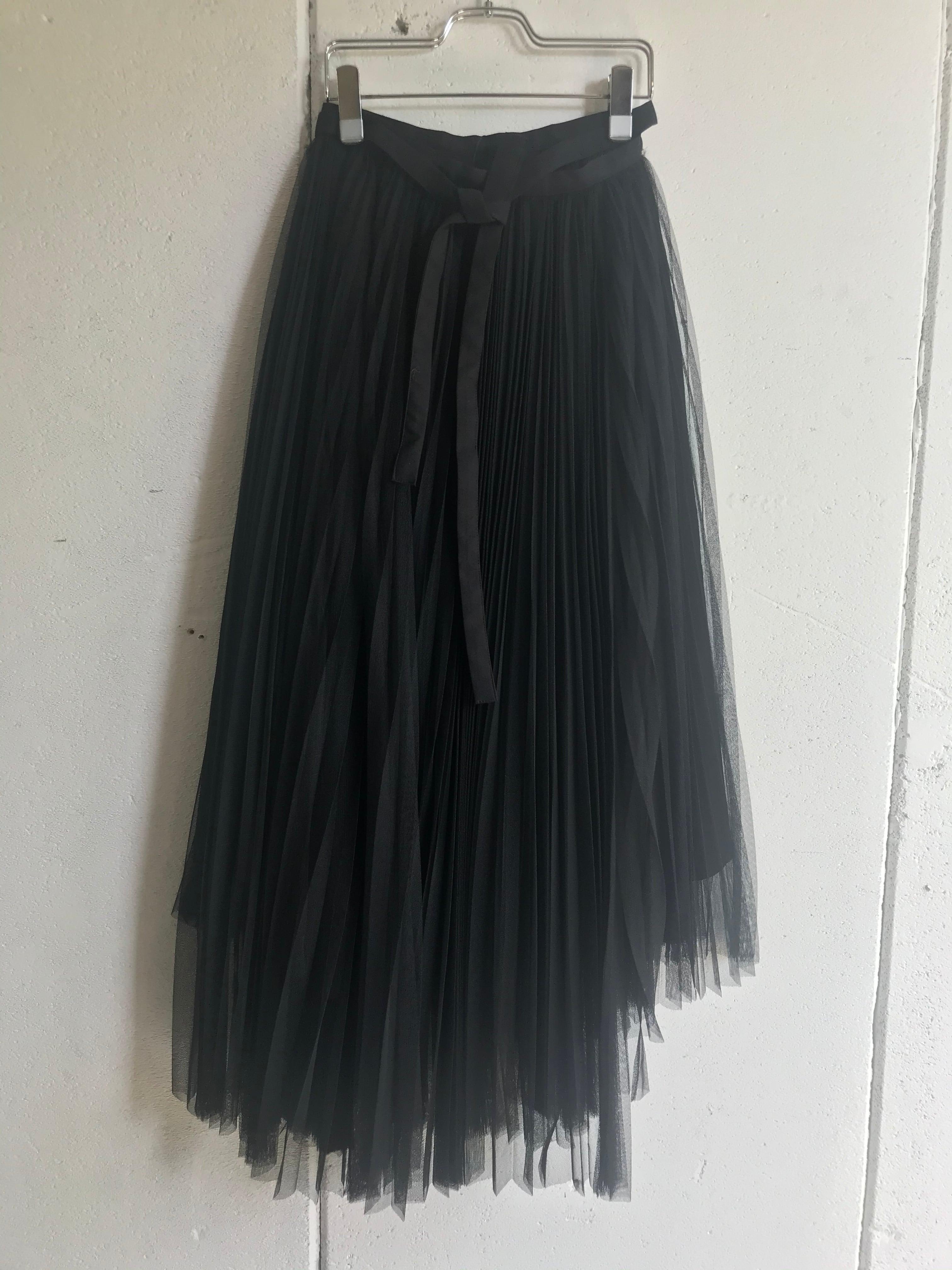 Chika Kisada tulle rolled skirt