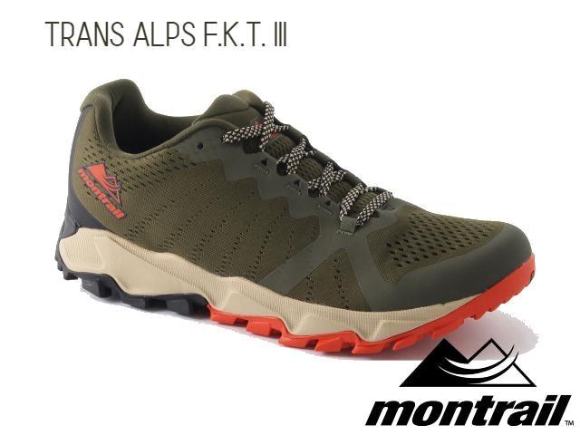【montrail】 TRANS ALPS F.K.T. 3(Nori/Autumn Orange)