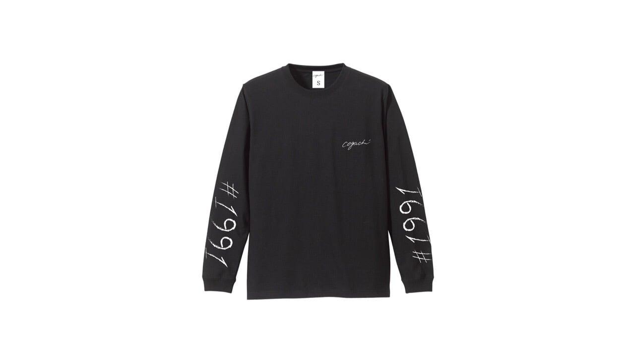 1991 biglogo longTshirt (BLK)