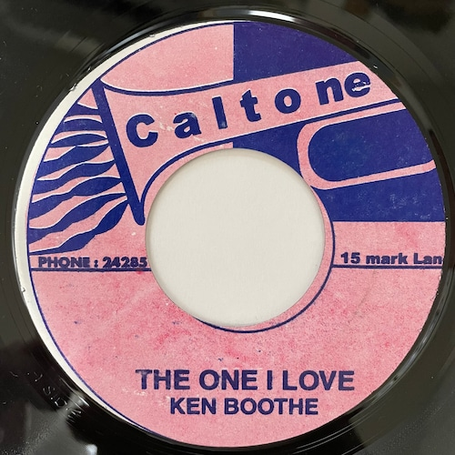 Ken Boothe - The One I Love【7-20728】