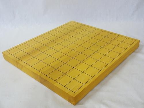 将棋盤 本榧 1寸 接合卓上盤