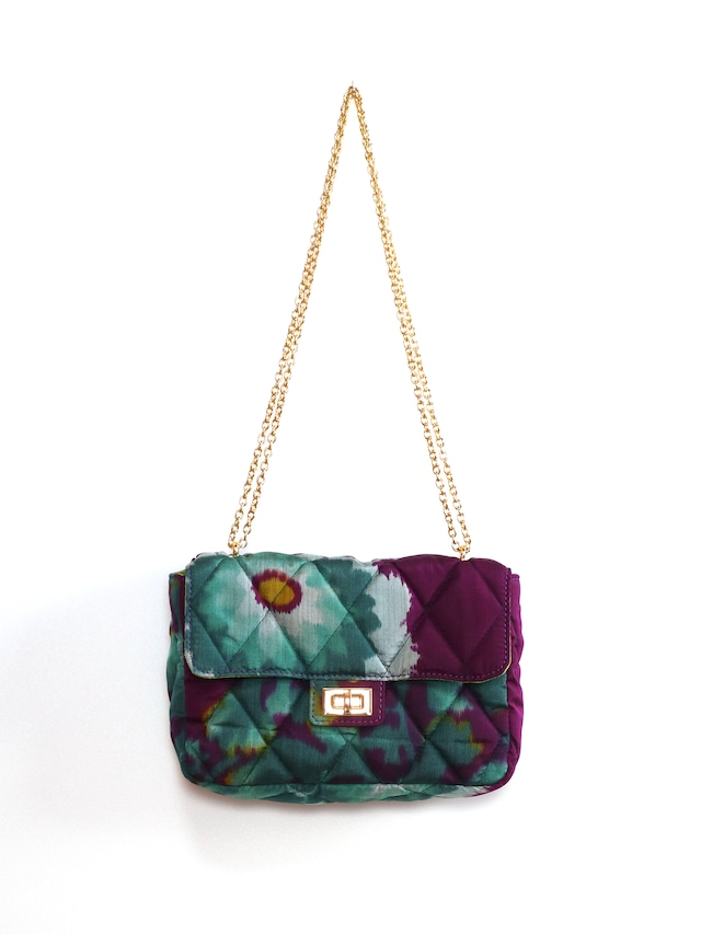 QUILTED CHAIN BAG - 04