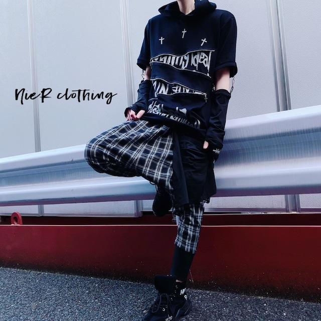 変型SARROUEL PANTS【2SILHOUETTE】