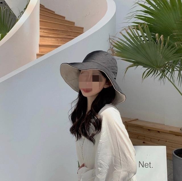 reversible lady uv hat 4color