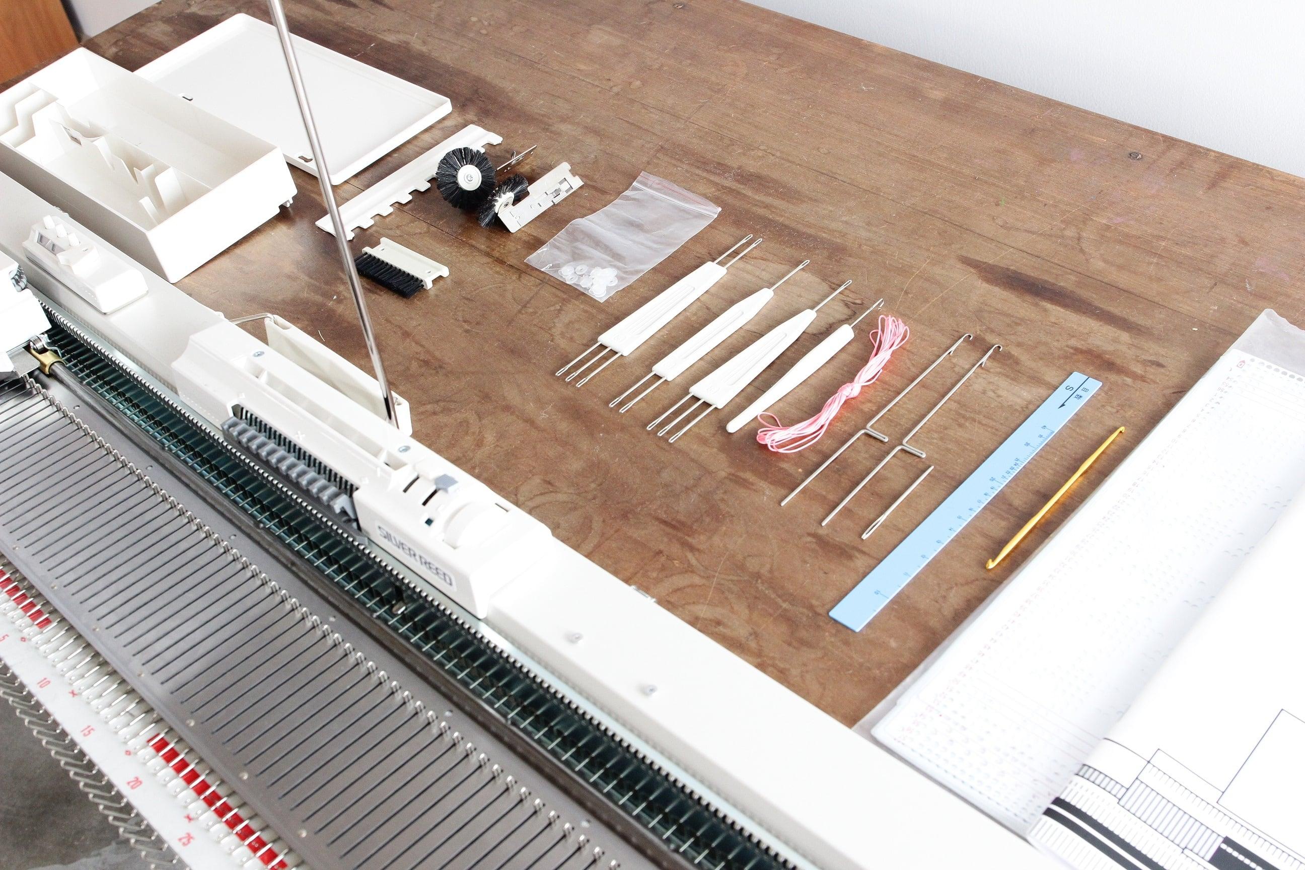 【家庭用編み機】9mmピッチ  パンチカードあみ機SK155