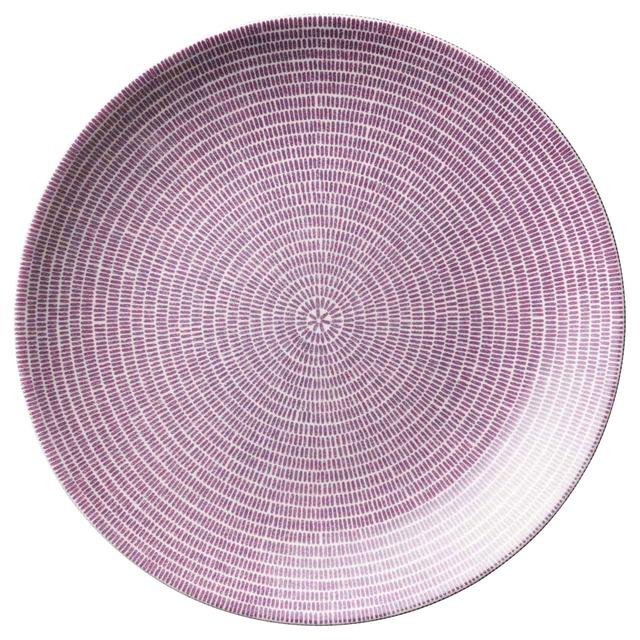アラビア ARABIA 24h アベック プレート 皿 約26cm パープル 1019230