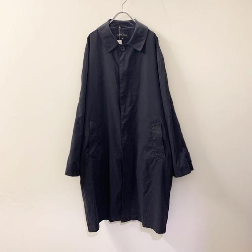 LINEAGE パッカブルコート ブラック系 size 42 メンズ 古着