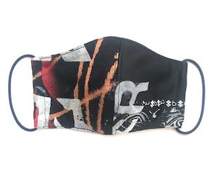 【COTEMER マスク 日本製】BAND BLEACH × PRINT MASK M0422009