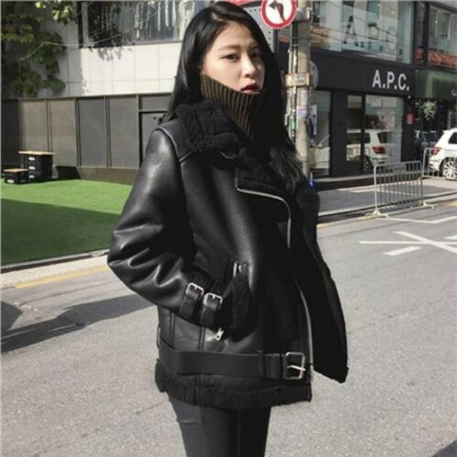 【アウター】PU保温韓国ストリート系コート42920178