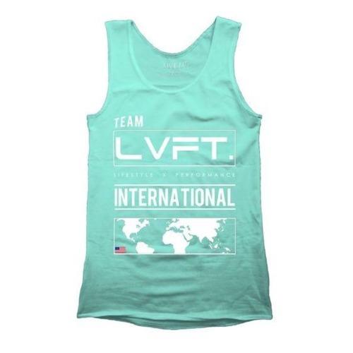 LIVE FIT International Tank - Teal