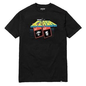 SNACK SKATEBOARDS superclash tee L black スナック Tシャツ