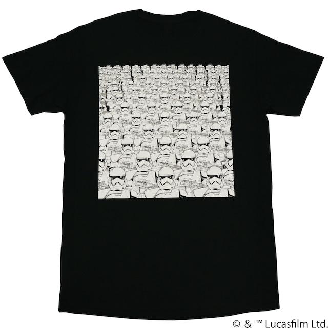 【スター・ウォーズ】ファーストオーダー ストームトルーパー 両面プリントTシャツ