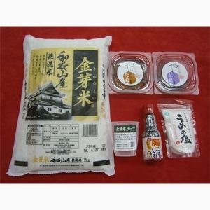 金芽米おにぎりセット(かつお梅、しそ梅)