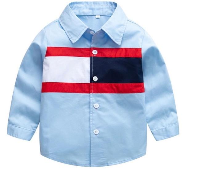 商品番号887 ブルーシャツ