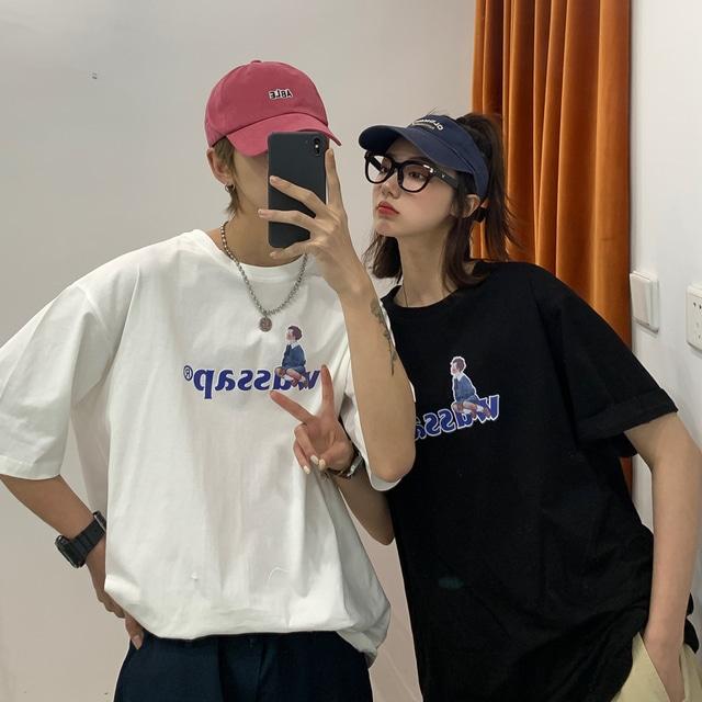 wassap プリントTシャツ YH3466