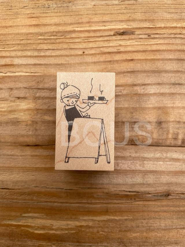 BOUSスタンプ メモ用*おうちCafe。