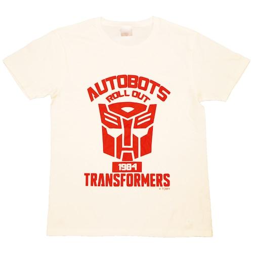 【トランスフォーマー】戦え!超ロボット生命体トランスフォーマー|サイバトロンエンブレム Tシャツ(再販版)