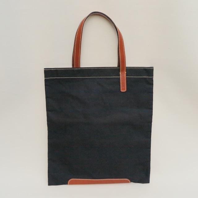 Paraffin canvas flatbag BLACK