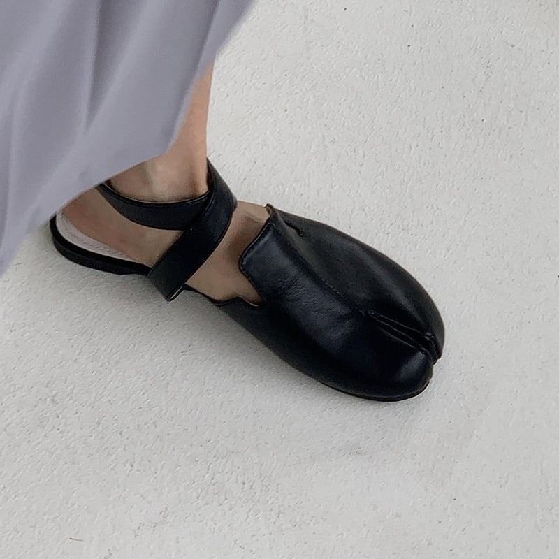 Tabi strap flat  sandal(タビストラップフラットサンダル) a-663