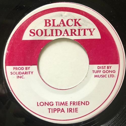 Tippa Irie - Long Time Friend【7-20702】