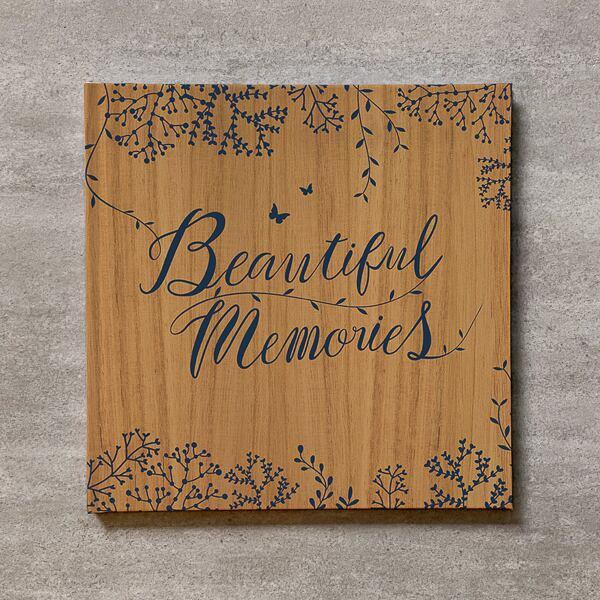 Tree's Board(Light brown)-FAMILY_250SQ_20ページ/30カット_スリムフラット