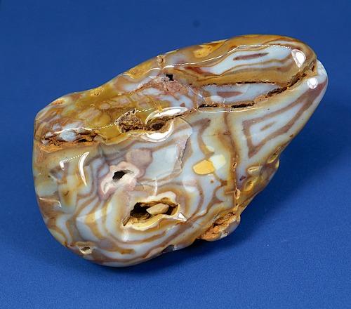 レインボー カルセドニー 51,7g RCD017 玉髄 鉱物 原石 天然石 パワーストーン