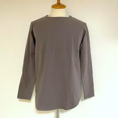 Long Length C/N Cut & Sewn (Spandex Cotton Jersey) Charcoal