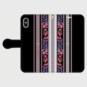 博多献上×令和collar/ iPhone専用・手帳型(帯あり)