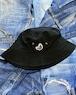 BANANA EMBLEMED BUCKET HAT [BK]