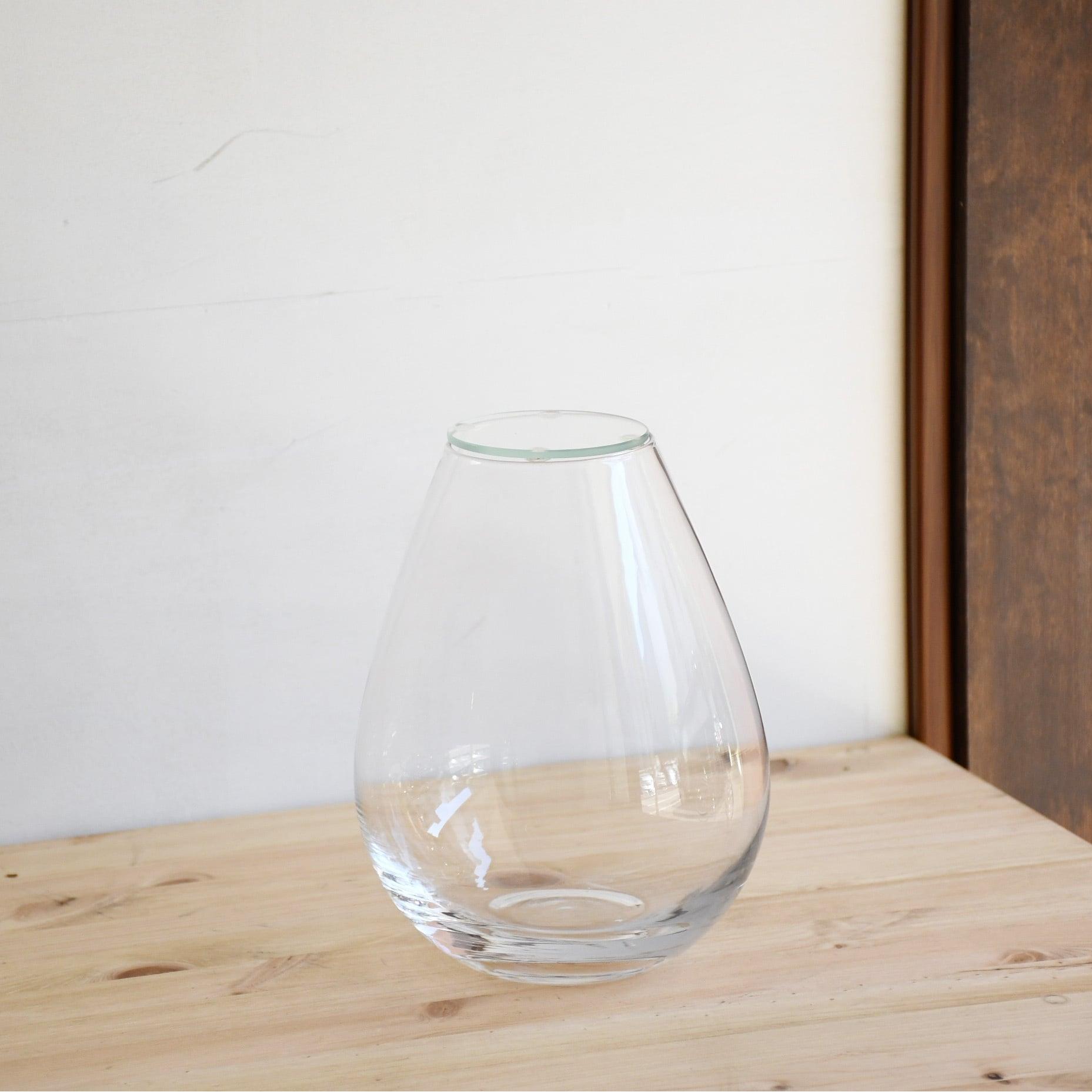 【ガラス容器】しずくベース・M(70xM140xh180mm)