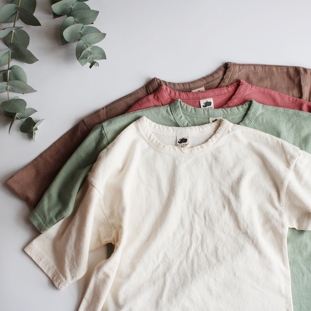 eight sleeve T mint/pink/brown/ivory  ※1点までメール便可