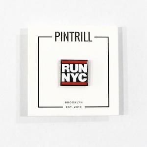 【PINTRILL】RUN NYC Pin