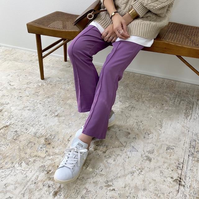 center seam flare PT/purple