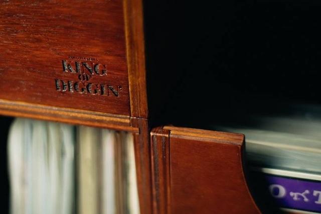 12inchレコードラック:KING OF DIGGIN' 発