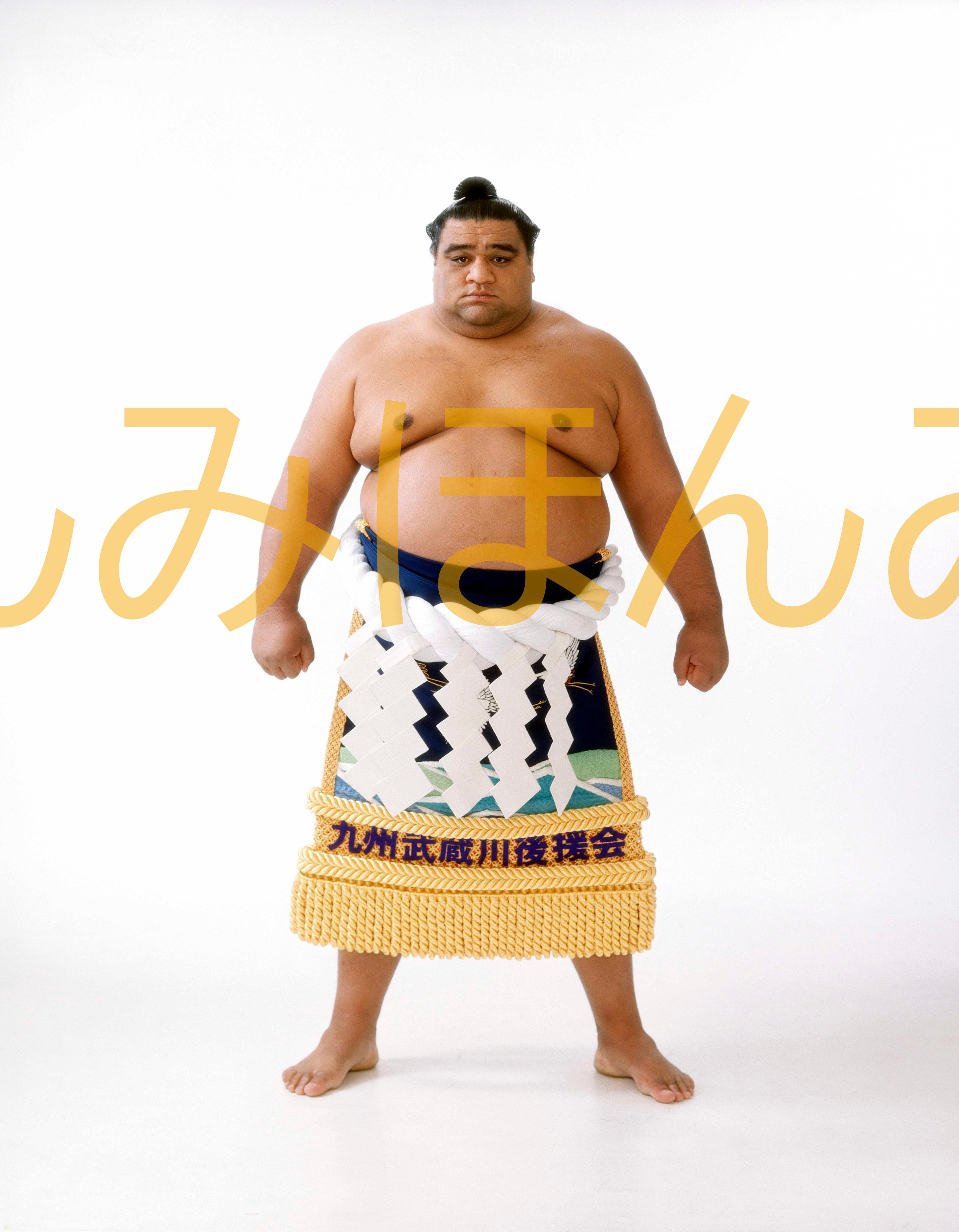 平成11年11月場所優勝 横綱 武蔵丸光洋関(7回目の優勝)