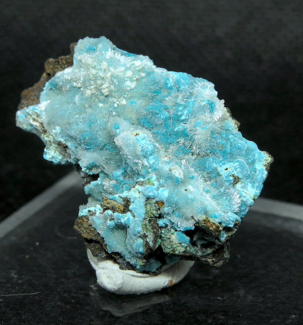 クリソコラ + ヘミモルファイト 珪孔雀石 4,5g CHS051  鉱物 天然石 原石 パワーストーン