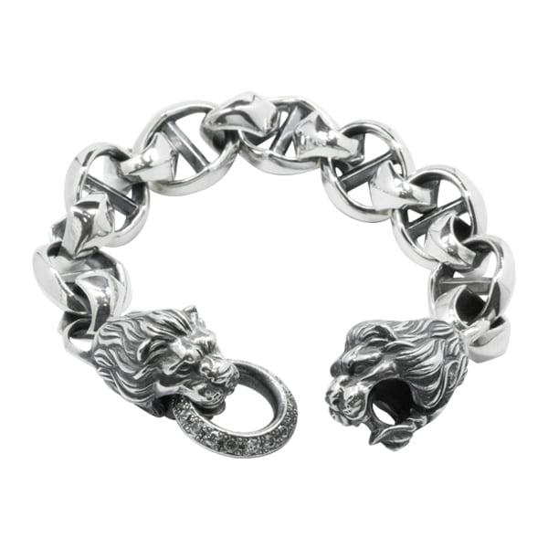 キングライオンアンカーブレス ACB0079 King lion anchor bracelet